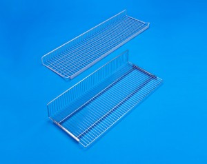 wire shelves